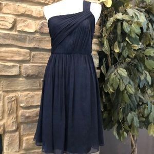 J. Crew Lucienne dress in silk chiffon size 10